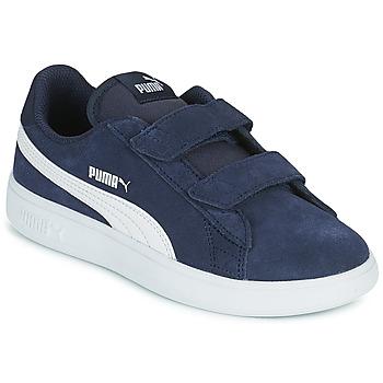 Obuća Dječak  Niske tenisice Puma SMASH PS Blue