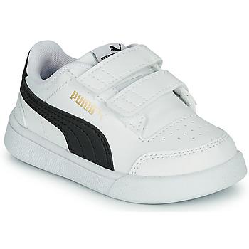 Obuća Djeca Niske tenisice Puma SHUFFLE INF Bijela / Crna