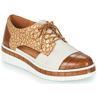 Obuća Žene  Derby cipele Mam'Zelle KIGALI Bijela / Smeđa