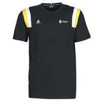 Odjeća Muškarci  Majice kratkih rukava Le Coq Sportif RENAULT FANWEAR 20 Tee SS M Crna
