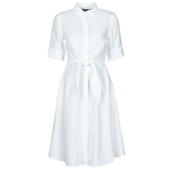 Odjeća Žene  Kratke haljine Lauren Ralph Lauren WAKANA Bijela