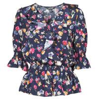 Odjeća Žene  Košulje i bluze Lauren Ralph Lauren HELZIRA Blue / Multicolour