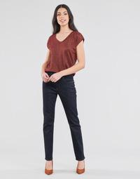 Odjeća Žene  Traperice ravnog kroja Lauren Ralph Lauren MIDRISE STRT-5-POCKET-DENIM Blue