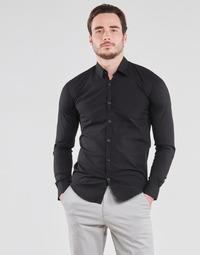 Odjeća Muškarci  Košulje dugih rukava BOTD OMAN Crna