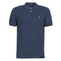 Odjeća Muškarci  Polo majice kratkih rukava Polo Ralph Lauren POLO AJUSTE DROIT EN COTON BASIC Blue