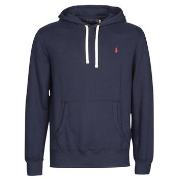 Odjeća Muškarci  Sportske majice Polo Ralph Lauren SWEAT A CAPUCHE MOLTONE EN COTON LOGO PONY PLAYER Blue