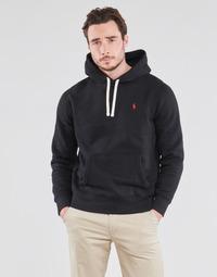 Odjeća Muškarci  Sportske majice Polo Ralph Lauren SWEAT A CAPUCHE MOLTONE EN COTON LOGO PONY PLAYER Crna