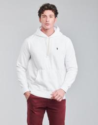 Odjeća Muškarci  Sportske majice Polo Ralph Lauren SWEAT A CAPUCHE MOLTONE EN COTON LOGO PONY PLAYER Bijela