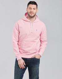 Odjeća Muškarci  Sportske majice Polo Ralph Lauren SWEAT A CAPUCHE MOLTONE EN COTON LOGO PONY PLAYER Ružičasta