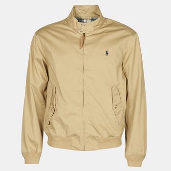 Odjeća Muškarci  Kratke jakne Polo Ralph Lauren BLOUSON BARACUDA COTON DOUBLE LOGO PONY PLAYER Bež