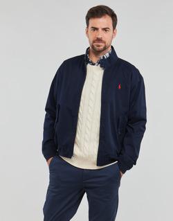 Odjeća Muškarci  Kratke jakne Polo Ralph Lauren BLOUSON BARACUDA COTON DOUBLE LOGO PONY PLAYER Blue