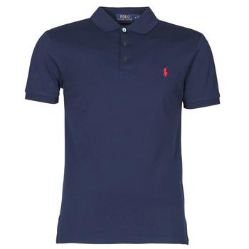 Odjeća Muškarci  Polo majice kratkih rukava Polo Ralph Lauren POLO CINTRE SLIM FIT EN COTON STRETCH MESH LOGO PONY PLAYER Blue