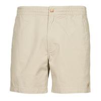 Odjeća Muškarci  Bermude i kratke hlače Polo Ralph Lauren SHORT PREPSTER AJUSTABLE ELASTIQUE AVEC CORDON INTERIEUR LOGO PO Bež
