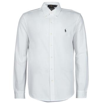 Odjeća Muškarci  Košulje dugih rukava Polo Ralph Lauren COPOLO Bijela