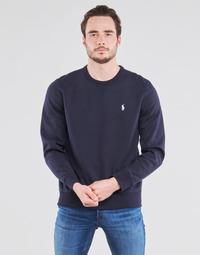 Odjeća Muškarci  Sportske majice Polo Ralph Lauren SWEATSHIRT COL ROND EN JOGGING DOUBLE KNIT TECH LOGO PONY PLAYER Blue