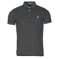 Odjeća Muškarci  Polo majice kratkih rukava Polo Ralph Lauren POLO AJUSTE DROIT EN COTON BASIC MESH LOGO PONY PLAYER Crna