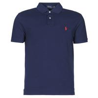 Odjeća Muškarci  Polo majice kratkih rukava Polo Ralph Lauren POLO AJUSTE DROIT EN COTON BASIC MESH LOGO PONY PLAYER Blue