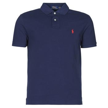 Odjeća Muškarci  Polo majice kratkih rukava Polo Ralph Lauren POLO AJUSTE DROIT EN COTON BASIC MESH LOGO PONY PLAYER Newport