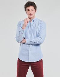 Odjeća Muškarci  Košulje dugih rukava Polo Ralph Lauren LORENZ Blue