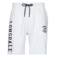 Odjeća Muškarci  Bermude i kratke hlače Lonsdale KNUTTON Siva