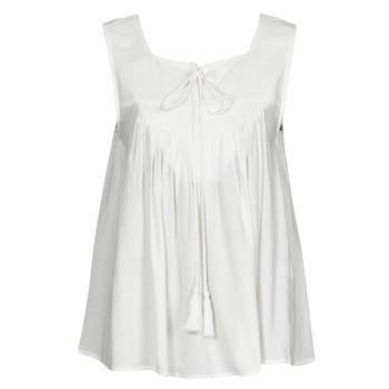 Odjeća Žene  Majice s naramenicama i majice bez rukava See U Soon 21111205B Bijela