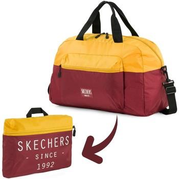Torbe Putne torbe Skechers MOVE Integrirani dzep sklopivi teretana torba Staro zlato