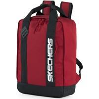 Torbe Ruksaci Skechers VRH Unisex casual torba ruksak Rijeka Crvena