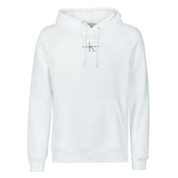 Odjeća Muškarci  Sportske majice Calvin Klein Jeans NEW ICONIC ESSENTIAL HOODIE Bijela