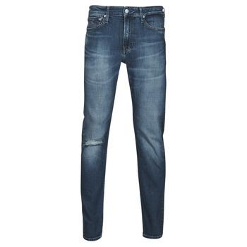 Odjeća Muškarci  Traperice ravnog kroja Calvin Klein Jeans SLIM TAPER Blue