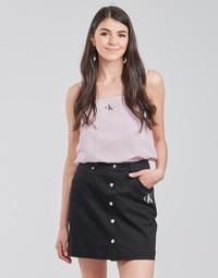 Odjeća Žene  Topovi i bluze Calvin Klein Jeans MONOGRAM CAMI TOP Ružičasta