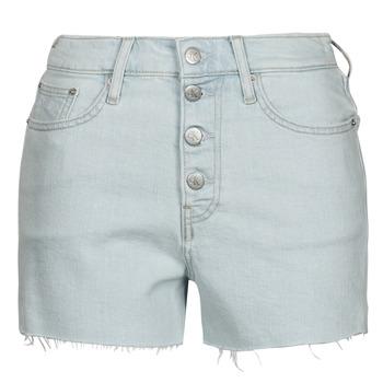 Odjeća Žene  Bermude i kratke hlače Calvin Klein Jeans HIGH RISE SHORT Blue / Svijetla
