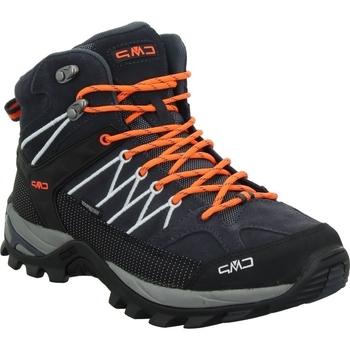 Obuća Muškarci  Pješaćenje i planinarenje Cmp Rigel Mid Crna