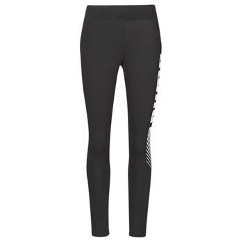 Odjeća Žene  Tajice Puma ESS+ GRAPHIC LEGGING Crna