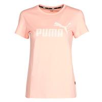 Odjeća Žene  Majice kratkih rukava Puma ESS Logo Tee (s) Aprikos