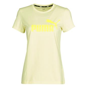 Odjeća Žene  Majice kratkih rukava Puma ESS Logo Tee (s) Žuta