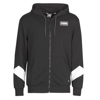 Odjeća Muškarci  Sportske majice Puma REBEL FZ HOOD Crna