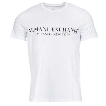 Odjeća Muškarci  Majice kratkih rukava Armani Exchange 8NZT72-Z8H4Z Bijela