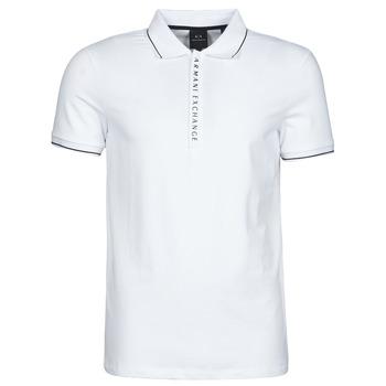 Odjeća Muškarci  Polo majice kratkih rukava Armani Exchange 8NZF71-ZJH2Z Bijela