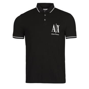 Odjeća Muškarci  Polo majice kratkih rukava Armani Exchange 8NZFPA-Z8M5Z Crna