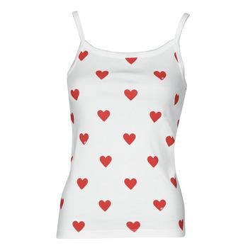 Odjeća Žene  Majice s naramenicama i majice bez rukava Petit Bateau DAYWEAR Bijela