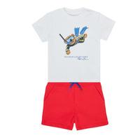 Odjeća Dječak  Dječji kompleti Polo Ralph Lauren SOULA Multicolour