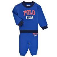 Odjeća Dječak  Dječji kompleti Polo Ralph Lauren NOELLE Blue