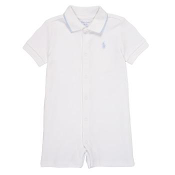 Odjeća Dječak  Kombinezoni i tregerice Polo Ralph Lauren TONNY Bijela