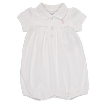 Odjeća Djevojčica Kombinezoni i tregerice Polo Ralph Lauren SIMONE Bijela
