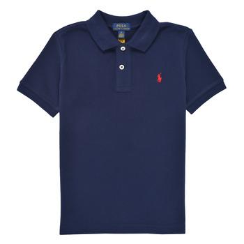 Odjeća Dječak  Polo majice kratkih rukava Polo Ralph Lauren TUSSA Blue