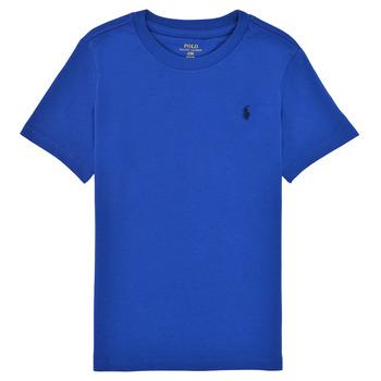 Odjeća Dječak  Majice kratkih rukava Polo Ralph Lauren ELIVA Blue / Saphir