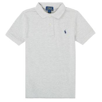 Odjeća Dječak  Polo majice kratkih rukava Polo Ralph Lauren MENCHI Siva