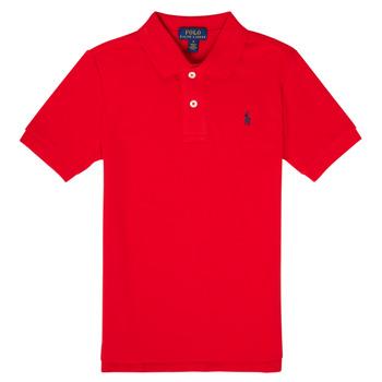 Odjeća Dječak  Polo majice kratkih rukava Polo Ralph Lauren MENCHI Red