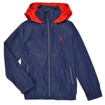 Odjeća Dječak  Kratke jakne Polo Ralph Lauren AMINA Blue