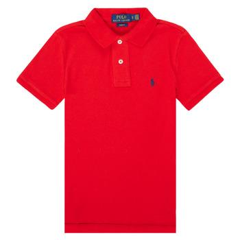 Odjeća Dječak  Polo majice kratkih rukava Polo Ralph Lauren FRANCHI Red